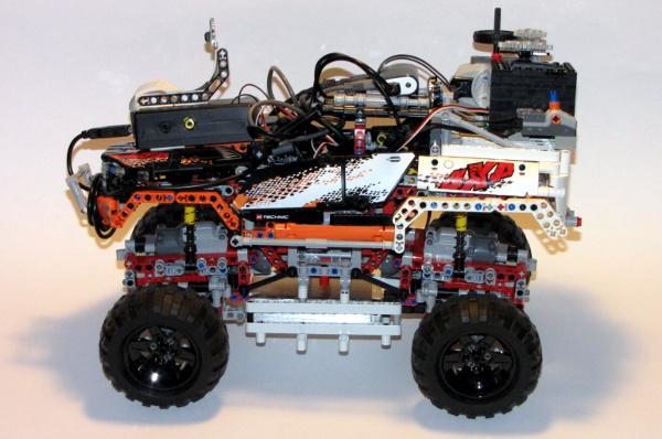 Lego Car with Raspberry Pi