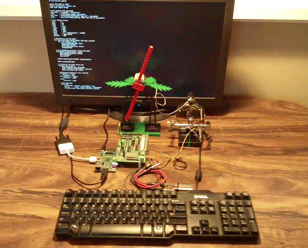 Raspberry Pi and Gertboard controlling a 4.5v Lego motor #6216m